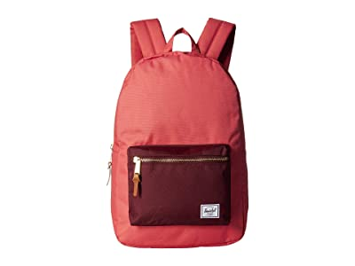 Herschel Supply Co. Settlement (Mineral Red/Plum) Backpack Bags
