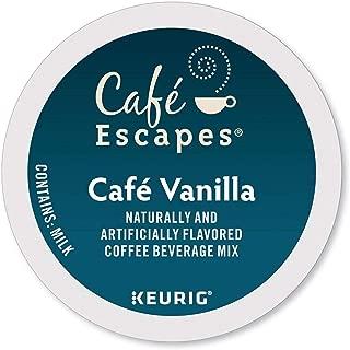 Café Escapes Keurig K Cups Vanilla, 24 Count