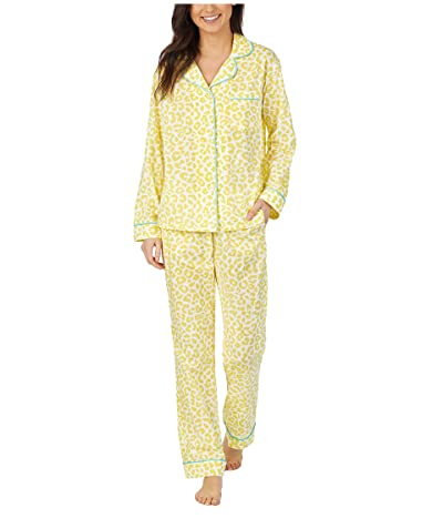 BedHead Pajamas Long Sleeve Classic Pajama Set (Animal Instinct) Women