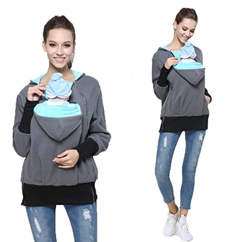 Hoodie With Baby Pouch Amazon Com
