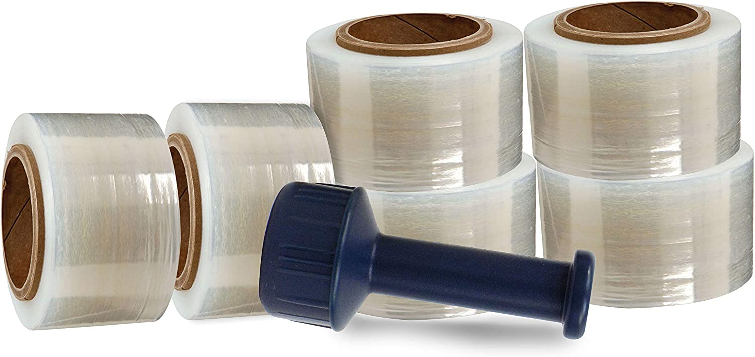High quality new WOD SBW-80 Heavy Duty Hand Stretch Film Gauge Wrap with Thick 80 Same day shipping