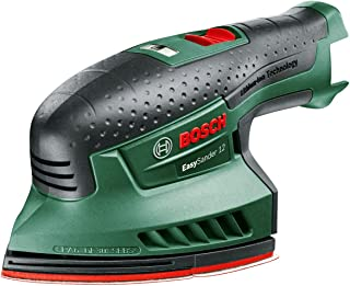 Sponsored Ad – Bosch 060397690B cordless multi-sander EasySander 12 (without battery, 12 volt system, in a box), Green, 1...