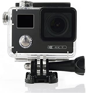 Zocotech AT48W Wifi 16MP 4K Waterproof Action Camera Sports Camera NTK96660 Sony IMX078 Sensor 170 Degree Wide Lends 2.0 inches LCD Screen Sports DV Cam