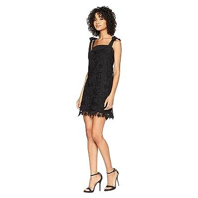 kensie Bold Garden Lace Dress KS5K8220 (Black) Women