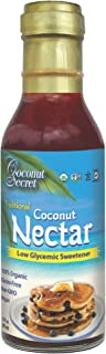 Coconut Secret Coconut Nectar - 12 fl oz - Natural, Low-Glycemic Liquid Sweetener, Agave Syrup Alternative - Organic, Vegan, Non-GMO, Gluten-Free, Kosher - 24 Servings