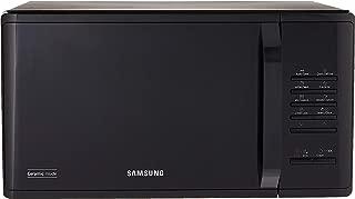 SAMSUNG Ceramic Inside Solo Microwave Oven, Black, 23 L, (MS23K3513AK/SP)