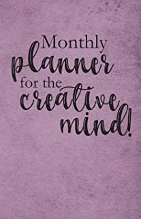 Monthly Planner for the Creative Mind