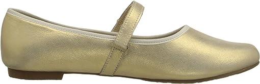 Metallic Suede Gold