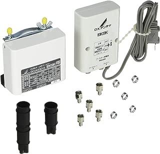 DXアンテナ CS/BS-IF・UHF デュアルブースター 【2K 4K 8K 対応】 家庭用 水平マストに取付可能 GCU433D1S