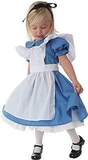 Deluxe Toddler Alice in Wonderland Costume Alice in Wonderland Dress for Girls