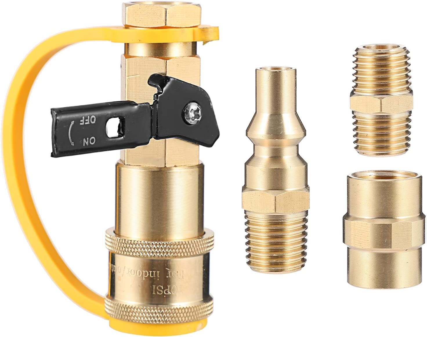 YARDWE 1 Set discount of Propane Quick Connection Hose C Adapters
