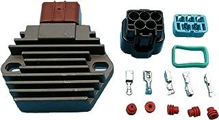 Tuzliufi Replace Voltage Regulator Rectifier Honda TRX400 FW TRX350 TE TM FM FE FW TRX450 TRX450R VT750C VT750C2 TRX400FW TRX450ES TRX450S VT750 C2F VT750CA Xl650V Transalp Crf230L Foreman Rancher Z54