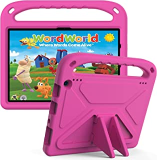 Fire HD 10 Tablet Case 2021, Grand Sky Super Lightweight Shockproof Kids Friendly EVA Cover Case with Handle & Stand for F...