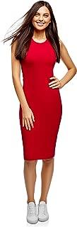 oodji Ultra Women's Cotton Bodycon Dress