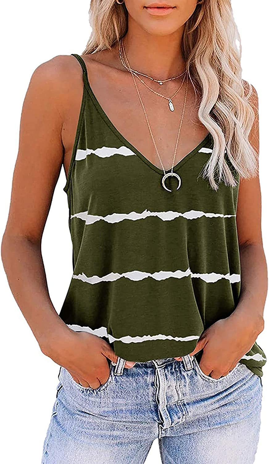 felwors Tank Tops for Women, Womens Fashion Summer Casual Vacation Sleeveless Graphic Tee Shirts Blouse Tops Vest Tops