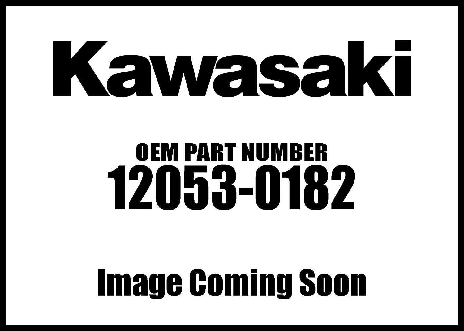 Limited time for free shipping Kawasaki 2012-2020 Ninja Guide Chain Fr New Oem trend rank 12053-0182