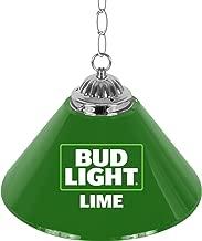 Bud Light Lime Single Shade Gameroom Lamp, 14