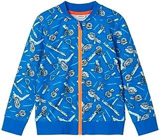 NAME IT NMMNATRICK LS SWEAT CARD BRU jongens Pullover trui