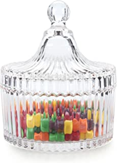 Best covered candy dish glass Reviews