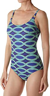 3a50d9f309f5b Anita Nomadic Estelle Wire Free One Piece Swimsuit (7747) 38E Java Blue