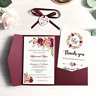 Best circle wedding invitations Reviews