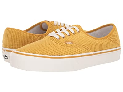 Vans Authentic SF ((Corduroy) Arrowwood/Marshmallow) Lace up casual Shoes