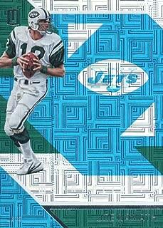 2016 Panini Unparalleled Teal #2 Joe NamathYork Jets Football Card