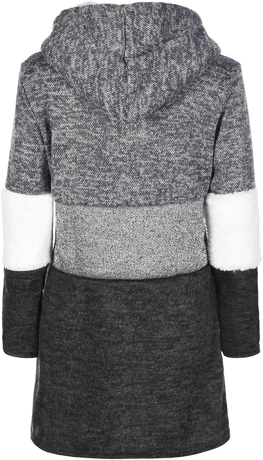 KMISSO M/ädchen Pullover Kleid Einhorn Pailletten 30209