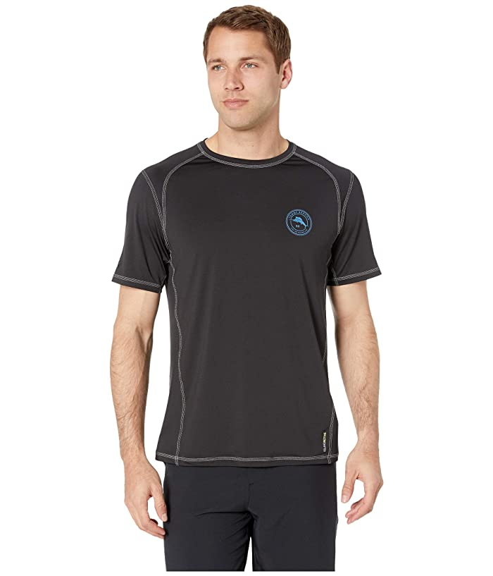 Tommy Bahama Island Active Breakline Crew Rashguard (Black) Men