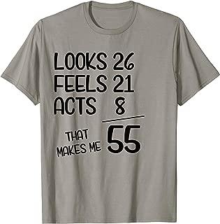 Funny 55th Birthday Gift Idea Nerd 1964 T Shirt