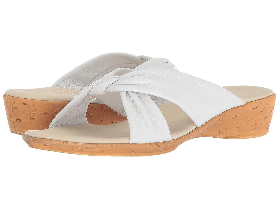 Onex Ana (White Leather) Women