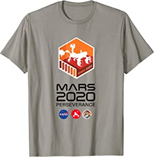 Logo de Mission Mars 2020 Perseverance Rover T-Shirt
