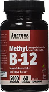 JARROW FORMULAS Methyl B12 METHYLCOBALAMIN 120