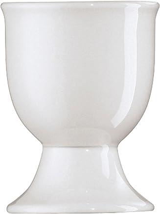 Preisvergleich für Arzberg Form 1382 Eierbecher auf Fuß, Eierhalter, Eier Becher, Becher, White, Porzellan, 41382-800001-15520