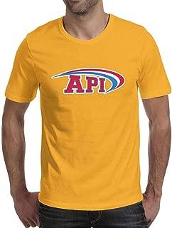 Api Logo QB Factory Men Short-Sleeves Dope Cool T Shirt Awesome Tee for Men