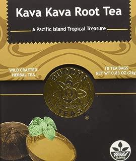 Wild-Harvested Kava Kava Root Tea – 18 Bleach-Free Tea Bags – Caffeine-Free Tea, Earthy and Rich Taste, Chemical-Free, GMO-Free Herbal Tea, Kosher
