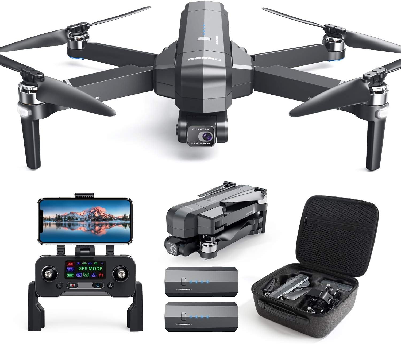 DEERC DE22 GPS Drone - Contents of the Package