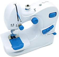 Qualimate 601 Electrical Portable Sewing Machine for Home Tailoring, Household Hand Sewing Machine for Home