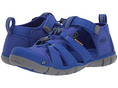 Keen Kids Seacamp II CNX (Little Kid/Big Kid) (Bright Blue) Kids Shoes