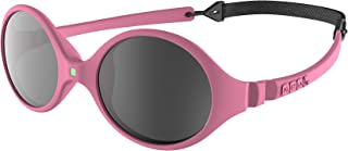 KI ET LA–太阳镜适用于 BABIES Diabola 风格–结实耐用–0–18个月, 粉色