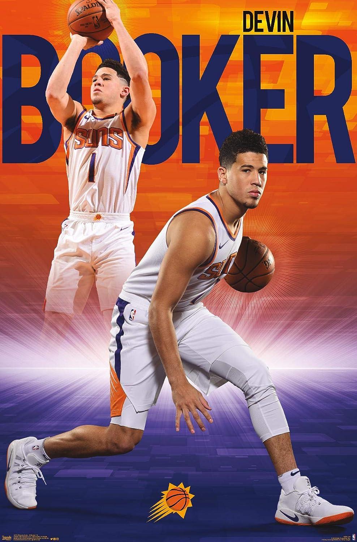 Trends International NBA Phoenix Suns - Devin Booker 18 Wall Poster, 14.725