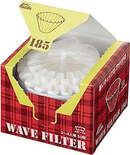 カリタ コーヒーフィルター ウェーブシリーズ 2~4用 50枚入り ホワイト KWF-185 #22210