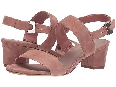 Diane von Furstenberg Link Sandal (Burlwood Suede) Women