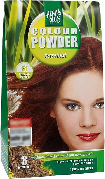 Henna Plus Colour Powder - Dark Brown: Amazon.es: Belleza