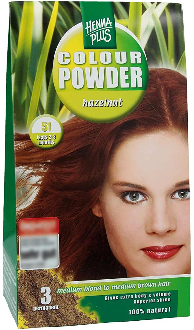 Henna Plus Color Polvo rubio de oro 50: Amazon.es: Belleza