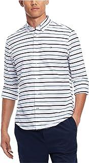 Mens Logan Stripe Button Up Shirt