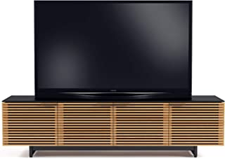 BDI Corridor Low TV Stand & Media Cabinet, White Oak