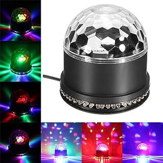 Plastique PARTY TIME LA9608 Jeu de Lumi/ère 4 Spots 84 LED Noir