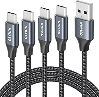 [Set of 4 3m + 2m + 1m + 0.3m]Nimaso USB TYPE C / Typecケーブル[QC30