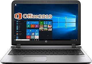 HP ノートPC 450G3/15.6型/MS Office 2019/Win 10/Core i3-6100U/10キー/WEBカメラ/HDMI/wajunのWIFI/DVD-RW/8GB/1TB HDD (整備済み品)